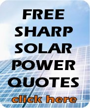 Interested in Sharp solar panels? Fill in this form